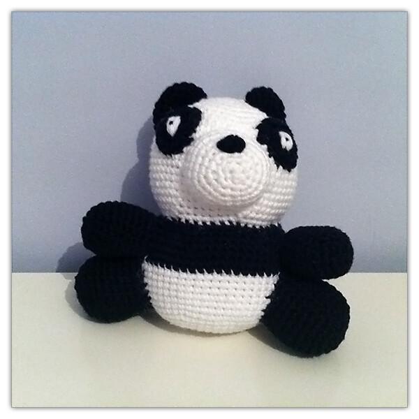 Oso Panda Amigurumi Flickr - Photo Sharing!