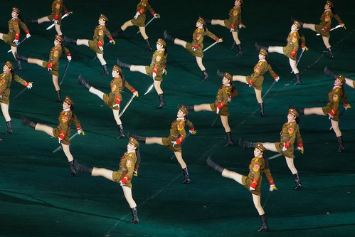 North Korean Army Girls (Explored)