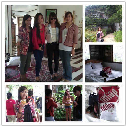 Arriving at Sonya's Garden Tagaytay