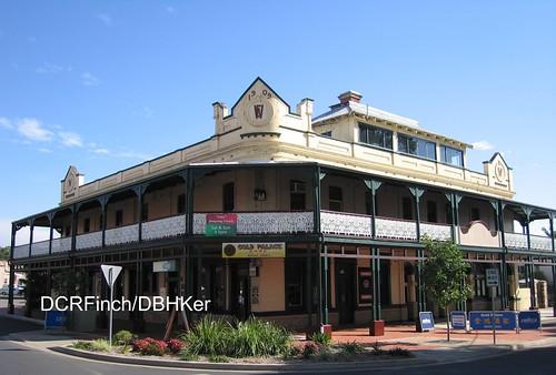 building architecture hotel pub colonial australia historic nsw guide grafton