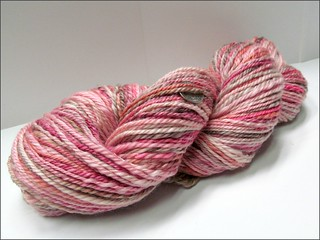 Chocolate-Covered Raspberries handspun #2
