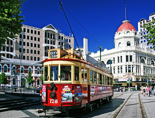 Trams Christchurch NZ