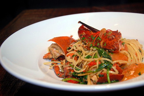the Estate lobster linguine