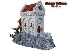 Castle of Stone River MOC