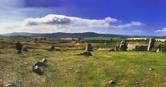 Recumbent stone circle in tarland