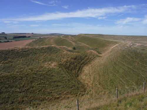 4 Banks and 3 Ditches: Maiden Castle Southerly Ramparts