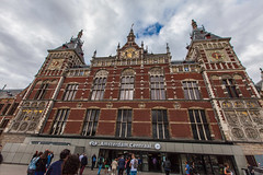 Amsterdam Centraal Station.