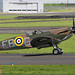 Spitfire Prestwick Airport by cmax211