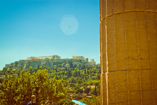 Image of Temple of Hephaistos near Athens. 2016 acropolis agora ancientagora athens greece hephaestus hephaisteion hephaistos hephesteum lightroom temple templeofhephaestus templeofhephaistos theseion theseum athina attica