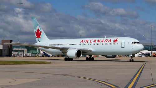 Air Canada 767 At Heathrow.