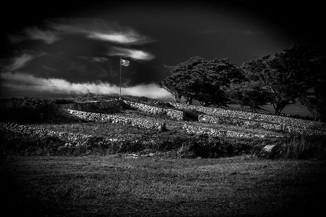 L'étendard noir et blanc