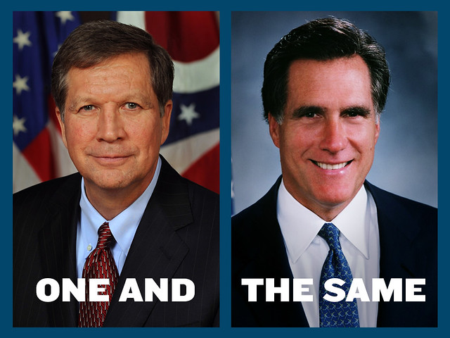 Romney and Kasich—One in the Same