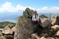 燧ヶ岳山頂と尾瀬沼
