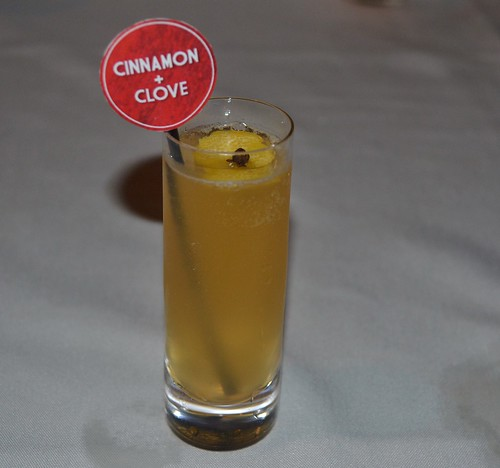 Grog with Cinnamon & Clove Syrup