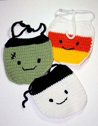 Halloween Baby Bibs by bssdpersonnel