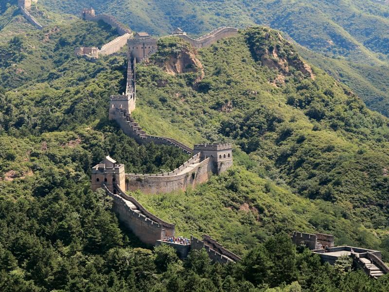 Grande Muraille au loin