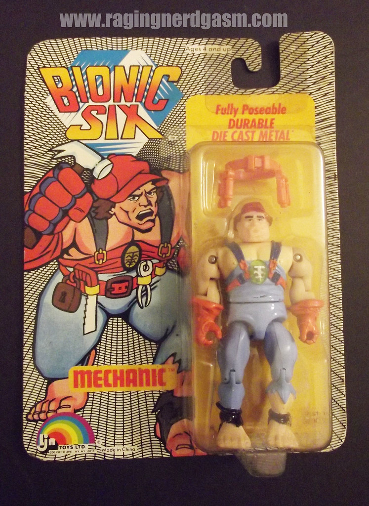 LJN Bionic 6 Figures Mechanic 002