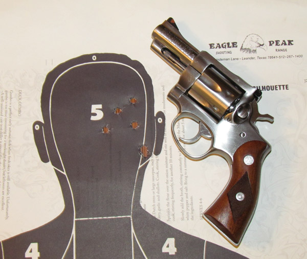 ruger security six test