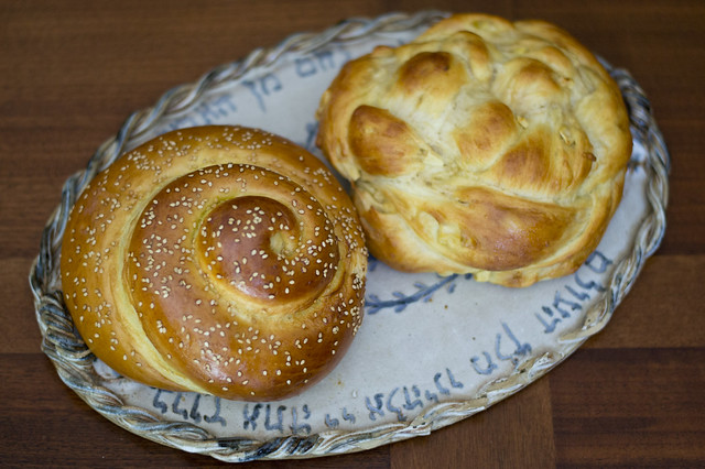 round challah shapes for the high holidays how to the perfect round ...
