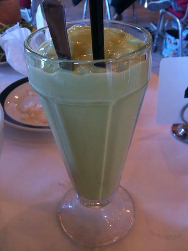 Avocado Milkshake ($4)
