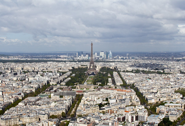Paris, view from le Ciel de Paris