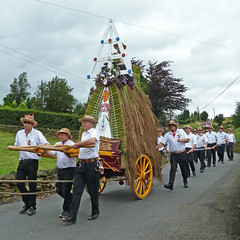 The Rushcart, Sowerby Bridge Rushbearing Festival