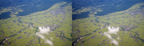 Aizu Basin, stereo parallel view
