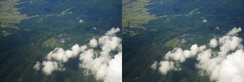 Oguni-numa Ponds, stereo parallel view