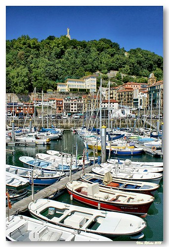 Marina de San Sebastian by VRfoto