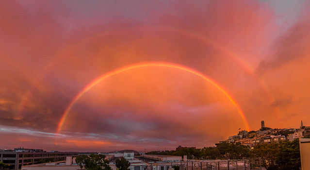 San Francisco Double Rainbow
