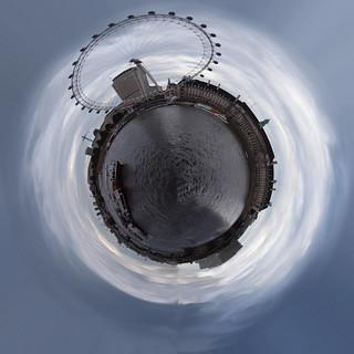 London Eye Planet Panorama