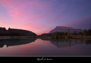 Mt Rundle at Sunrise
