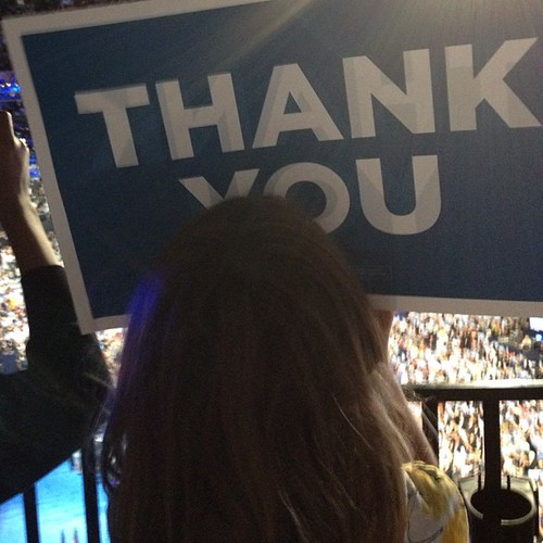 My family says thank you @ #dnc2012