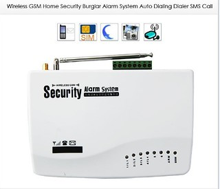 Advanced Wireless Security GSM Auto Dial Burglar Alarm System