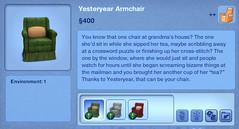 Yesteryear Armchair
