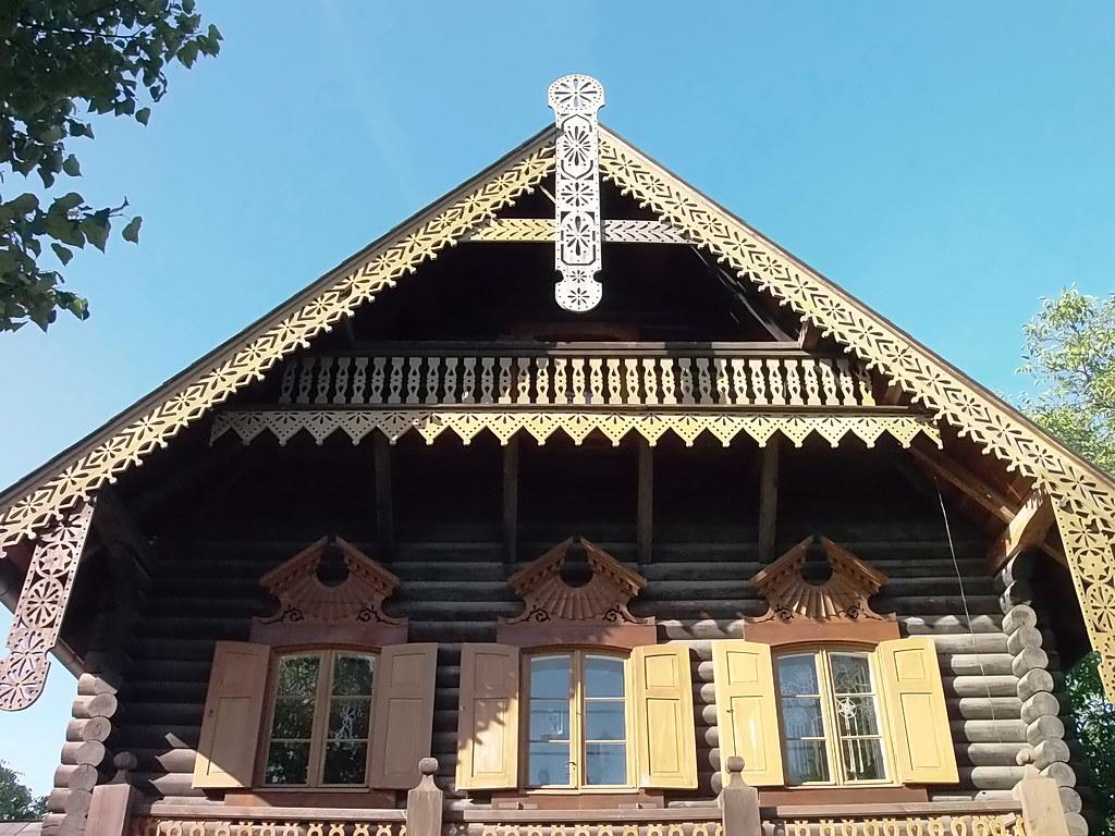 Einzigartig Russisches Holzhaus Referenz Von