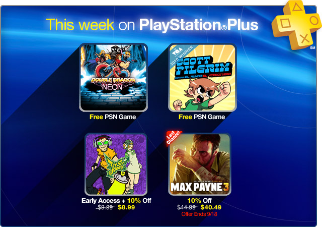 PlayStation Store Update 9-11-2012