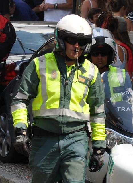 Guardia civil de tr fico vuelta ciclista a espa a 2012 - Guardia civil trafico zaragoza ...