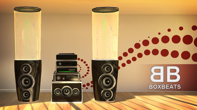 PlayStation Home: Box Beats