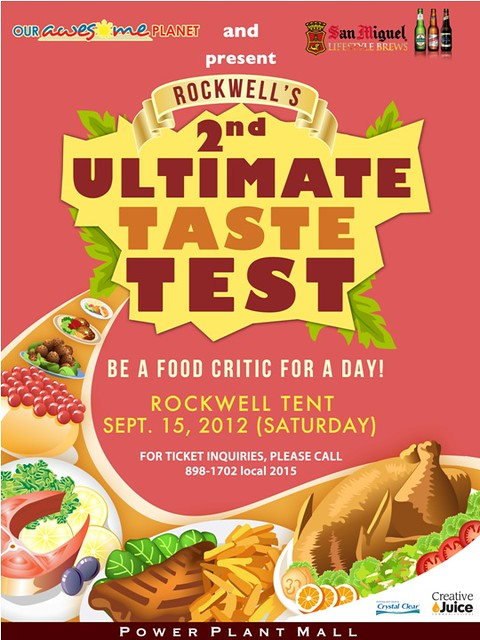 Rockwell's Ultimate Taste Test 2012