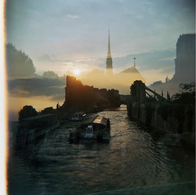 Paris x Seine x Notre Dame