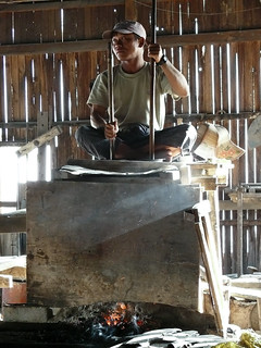 Blacksmith's forge on Inle lake - Myanmar