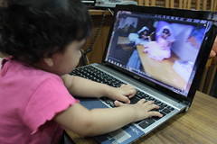 The Laptop Girl From Bandra .. Nerjis Asif Shakir .. by firoze shakir photographerno1
