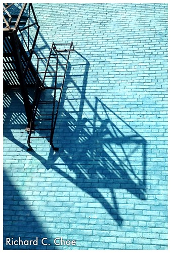 Shadow on Brick Wall (9.16, '12) by rchoephoto