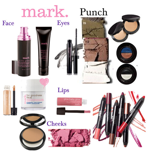 Livingaftermidnite : mark. Makeup Monday : Punch