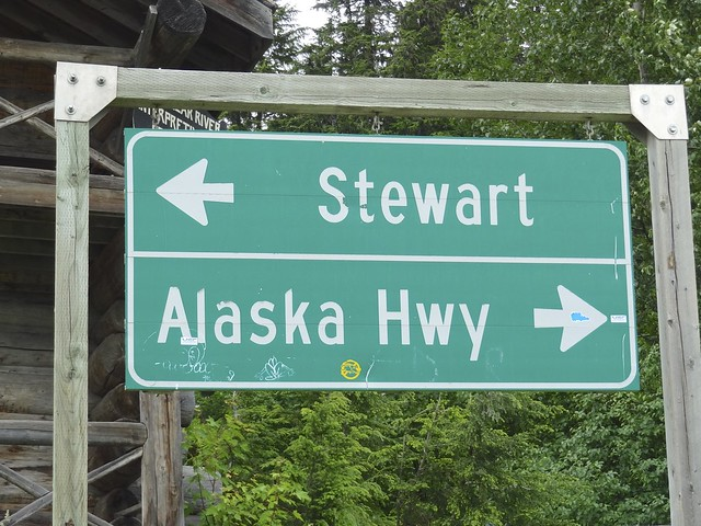 Stewart - Alaska trun sign