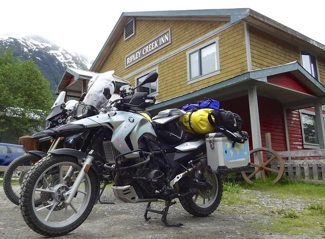 Bikes RIpley Creek Inn