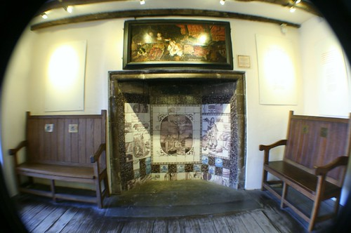 Tiled Fireplace, John Knox House