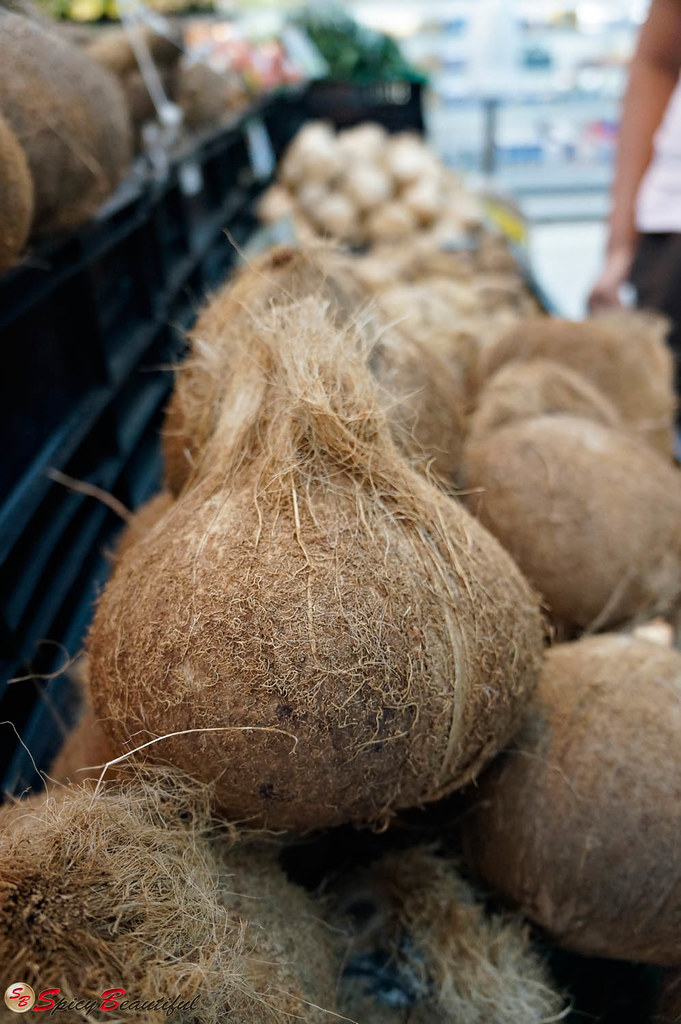 The coconuts are gorgeous, aren't they?