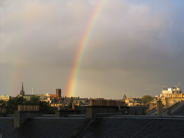 Rainbows over Tollcross